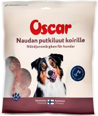 Oscar Naudan Putkiluut Koirille Täydennysravinto 1,5Kg