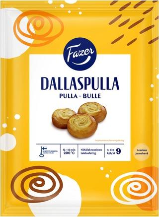 Fazer Dallaspulla 9kpl/450g nostatettu raakapakaste leivonnaispakaste