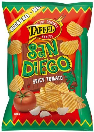 Taffel San Diego Mausteinen Tomaatti Maustettu Perunalastu 325G