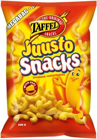 Taffel Juustosnacks Maustettu Snacks 235G