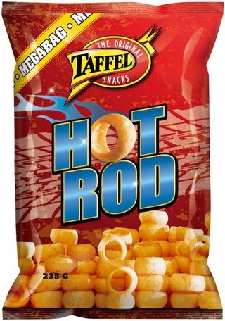 Taffel Hot Rod Maustettu Perunarengas 235G