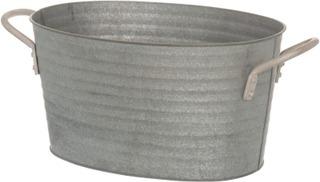 4Living Metallisanko Ovaali 26 Cm