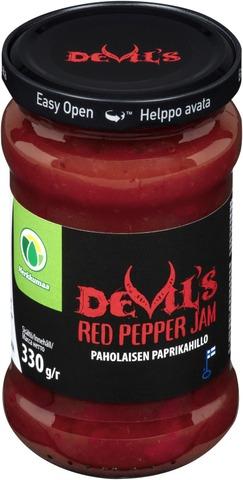 Devil's Red Pepper Jam 330G