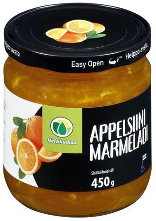 Herkkumaa 450g appelsiinimarmeladi
