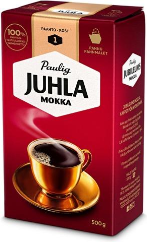 Juhla Mokka 500G Pannujauhettu Kahvi