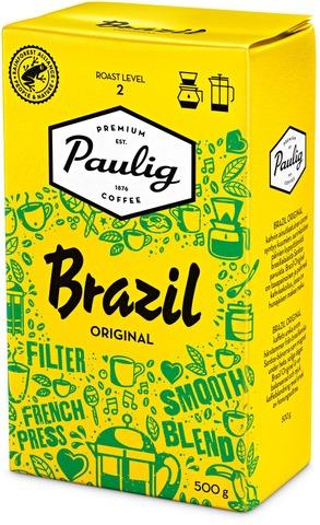 Brazil Original 500G Hienojauhettu Kahvi Utz