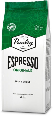 Paulig Espresso Originale 250G Espressojauhettu Kahvi Utz