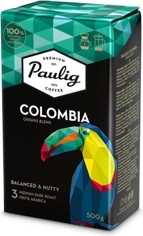 Paulig Colombia Origins Blend 500G Hienojauhettu Kahvi