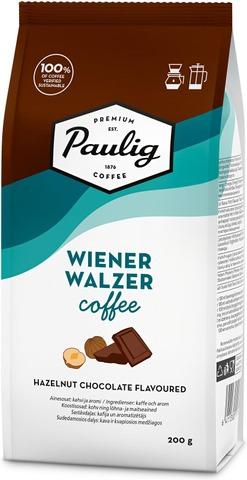 Paulig Wienerwalzer Coffee 200G Hasselpähkinäsuklaan Makuista Aromatisoitua Jauhettu Kahvi