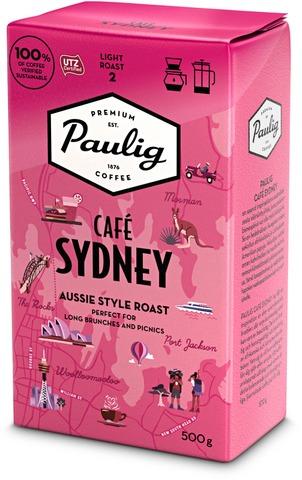 Paulig Café Sydney Kahvi Suodatinjauhatus 500G