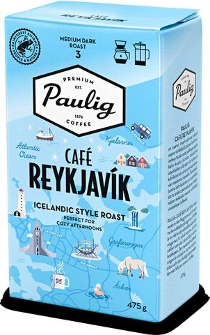 Paulig Café Reykjavik 475 G Hienojauhettu Kahvi Utz