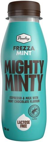 Paulig Frezza Mint 250ml UTZ maitokahvijuoma minttusuklainen maku laktoositon