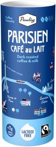 Paulig Parisien Café au Lait 235 ml laktoositon maitokahvijuoma, Reilu kauppa