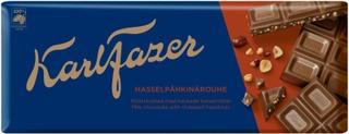 Karl Fazer Hasselpähkinärouhe Maitosuklaalevy 200G