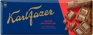 Karl Fazer Vaalea Maitosuklaalevy 200G
