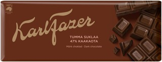 Karl Fazer tumma suklaalevy 200g
