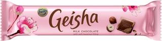 Fazer Geisha hasselpähkinänougat täytteinen suklaapatukka 37g