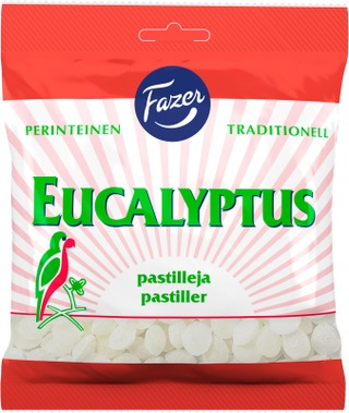 Fazer Eucalyptus Pastilleja 200G
