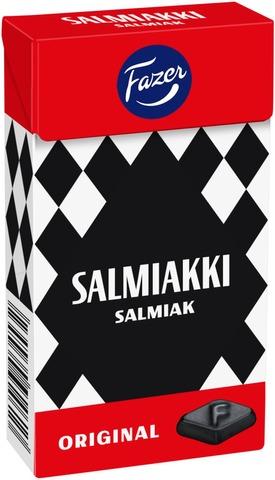 Fazer Salmiakki 40G Pastilleja