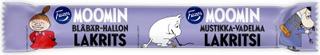 Fazer Moomin Mustikka-Vadelma Lakritsi 20G