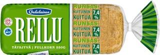 Oululainen Reilu 550gTäysjyvä täysjyväleipä