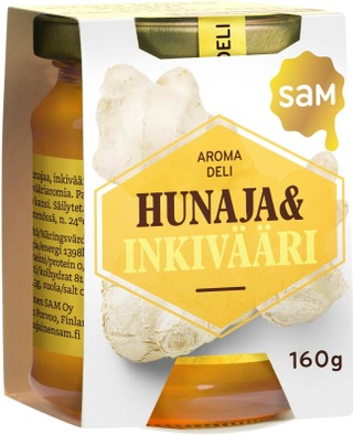 Hunajainen Sam Hunaja&Inkivääri 160G