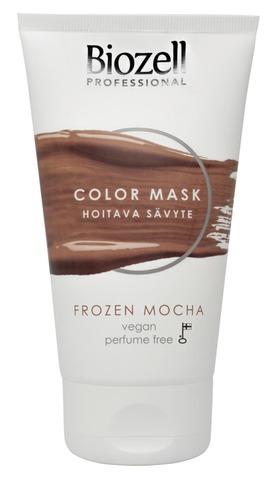Biozell Professional Color Mask Hoitava Sävyte Frozen Mocha 150Ml