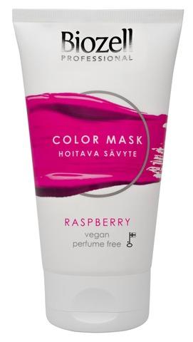 Biozell Professional Color Mask Hoitava Sävyte Raspberry 150Ml