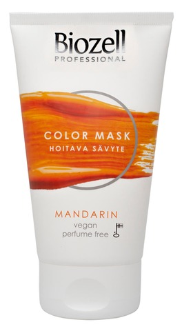 Biozell Professional Color Mask Hoitava Sävyte Mandarin 150Ml
