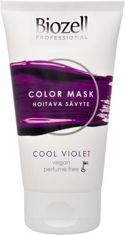 Biozell Professional Color Mask Hoitava Sävyte Cool Violet 150Ml