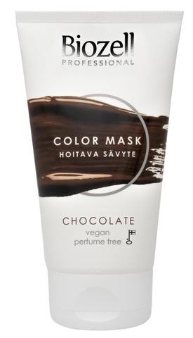 Biozell Professional Color Mask Hoitava Sävyte Chocolate 150Ml