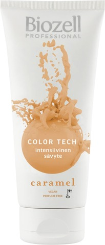 Biozell Professional Color Tech Intensiivinen Sävyte Caramel 200Ml