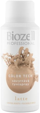Biozell Professional Color Tech Sävyttävä Tyvispray Latte 100Ml