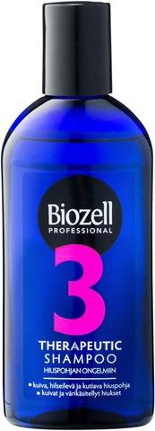 Biozell Professional Therapeutic 3 Shampoo Kuivat/Kutiava Hiuspohja 200Ml