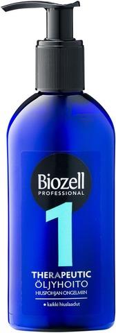 Biozell Professional Therapeutic Öljyhoito Kaikille Hiuslaaduille 200Ml