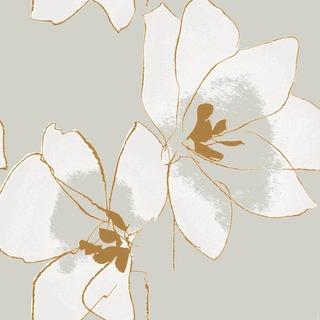 Pentik Tissue Lautasliina Amaryllis Vaaleanharmaa 33Cm 20Kpl