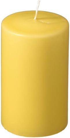Havi  Pöytäkynttilä Keltainen  70X120mm 1Kpl   50 H