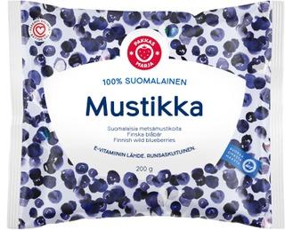 Pakkasmarja  100 % Suomalainen Mustikka 200G