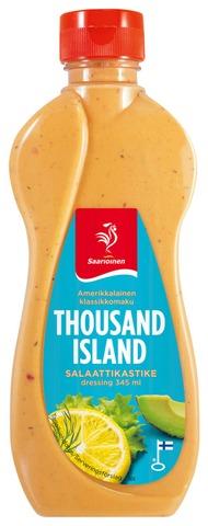 Saarioinen Thousand Island -Salaattikastike 345Ml