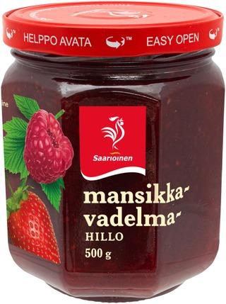 Saarioinen Mansikka-Vadelmahillo 500G