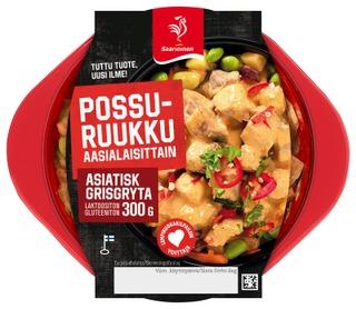 Saarioinen Possuruukku Aasialaisittain; Porsaanliha-Juuresruukku 300G