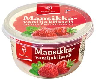 Saarioinen Mansikka-Vaniljakiisseli 175G