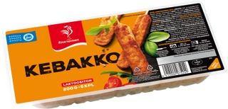 Saarioinen Kebakko; kypsä jauhelihavarras 200g/5kpl