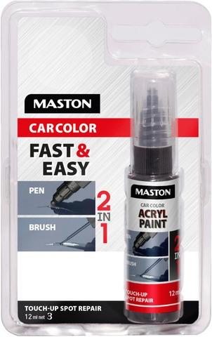 Maston Carcolor Akryylimaali Korjauskynä Touch-Up 12Ml