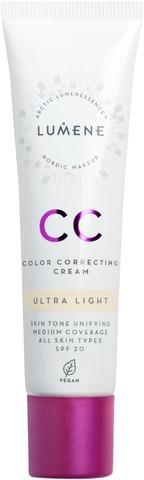 Lumene Cc Color Correcting Meikkivoide Sk20 Ultra Light 30Ml