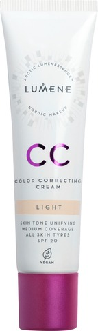 Lumene Cc Color Correcting Meikkivoide Sk20 Light 30Ml