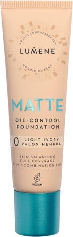 Lumene Matte Oil-Control Mattameikkivoide 0 Valon Hehkua 30Ml