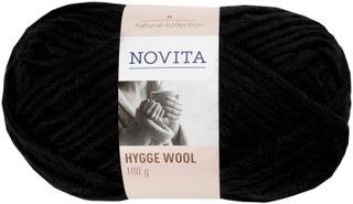 Novita Hygge Wool 100 g Noki 099 lanka