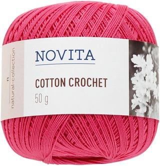 Novita Cotton Crochet 50g lanka hortensia 536