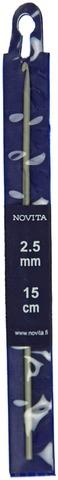 Novita virkkuukoukku 2,5mm 15cm